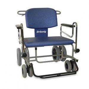 Schwerlastrollstuhl RS-Jumbo mit Fußschwenkbügel