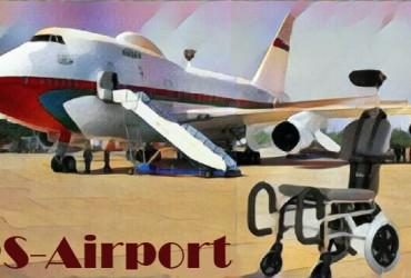Der Flughafenrollstuhl RS-Airport