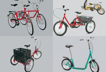 Spezialfahrräder und andere Mobilitätshilfen