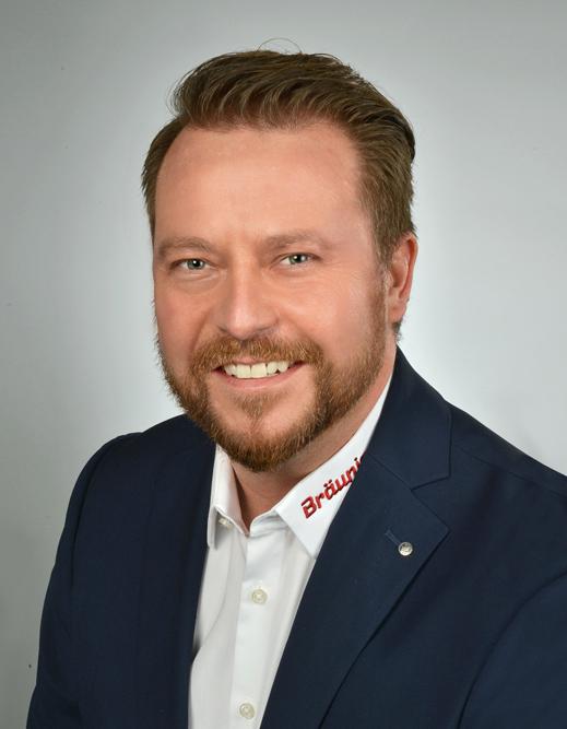 Portrait des Firmenchefs Sascha Kröner