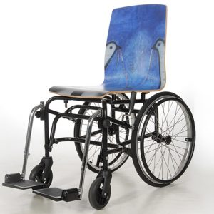 Sondermodell Rollstuhl Berliner Mauer
