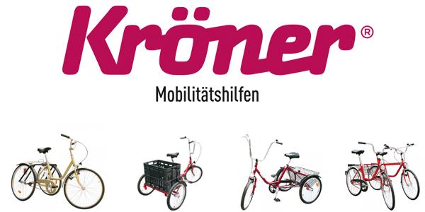 Kröner Mobilitätshilfen - Dreiräder für Erwachsene